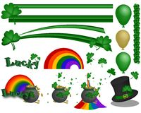 Irish Clip Art Collection Royalty Free Stock Photo