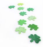 Irish Clovers Royalty Free Stock Photo