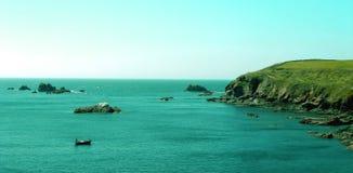 Irish Coast. Scene of the Atlantic off the Rocky Irish Coast Royalty Free Stock Photography