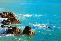 Irish coast. Breaking wave in the sea, Ireland Europe Stock Photography