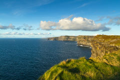 Irish coast - Cliffs of Moher. Cliffs of Moher in Co. Clare, Ireland Stock Photo