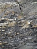 Irish Coastal Rocks. Stone texture from the shores of West Cork, ireland stock photos
