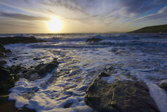 Irish Coastline Royalty Free Stock Photography