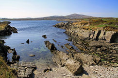 Irish coastline. Coast in Co. Cork in west Ireland Royalty Free Stock Photos