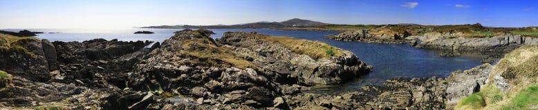 Irish coastline. Irish coast in April - Co. Cork Stock Photos