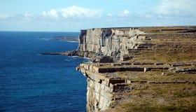 Irish Coastline. On the Aran islands Stock Photo