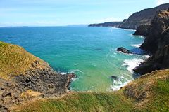 Irish coastline in Springtime Royalty Free Stock Photo