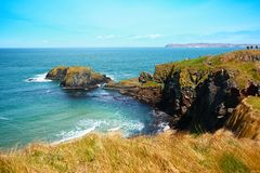 Irish coastline in Springtime Stock Photos