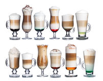 Irish coffe collection  Stock Photography