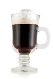 Irish coffee. Fotografia Stock