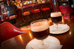 Irish coffee stock foto's