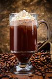Irish coffee royalty-vrije stock afbeeldingen