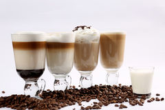 Irish coffee fotografie stock