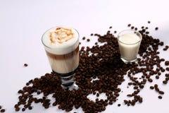 Irish coffee fotografia stock libera da diritti