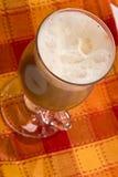 Irish coffee. Drink series: tasty irish coffee with cream Stock Photos
