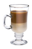 Irish coffee close up Royalty Free Stock Images