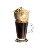Irish coffee cocktail Stock Image