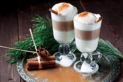 Irish coffee cup Royalty Free Stock Photo