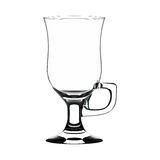 Irish coffee glass Royalty Free Stock Photo