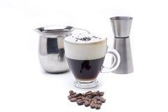 Irish coffee traditional cocktail Royalty Free Stock Image