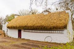 Old Irish cottage Stock Photo