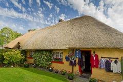 Irish cottage house. Irish traditional cottage house of Adare Royalty Free Stock Photo