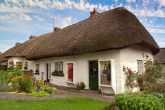 Irish cottage house Stock Images