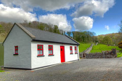Irish cottage house Royalty Free Stock Photography