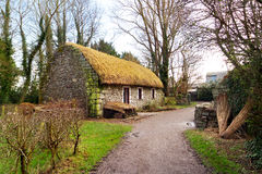 Irish cottage house Royalty Free Stock Images