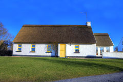 Irish country house,  Ireland. Irish thatched country house,  Ireland Royalty Free Stock Images