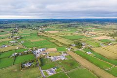 Irish Countryside Aerial stock photography