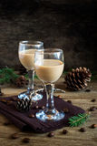 Irish cream coffee liqueur Royalty Free Stock Photos