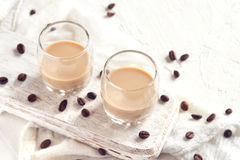 Irish cream coffee liqueur Stock Photography