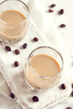 Irish cream coffee liqueur Stock Photos