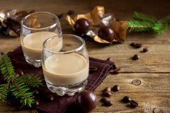 Irish cream coffee liqueur Stock Photo
