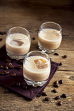Irish cream coffee liqueur Stock Photo