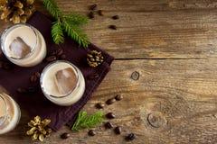 Irish cream coffee liqueur Stock Photography