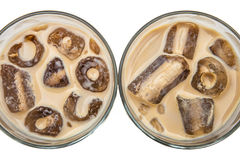 Irish cream on the rocks Stock Photos