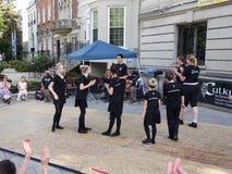 Irish Dance Performance Royalty Free Stock Images