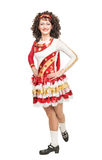 Irish dancer in hard shoes Stock Image