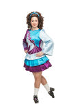 Irish dancer in hard shoes Royalty Free Stock Photo