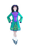 Irish dancer posing Stock Image