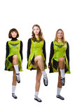 Irish dancers Stock Photo