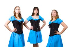 Irish dancers Royalty Free Stock Photography