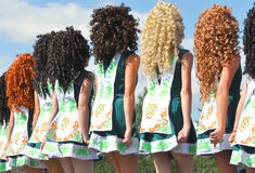 Irish Dancers Stock Images