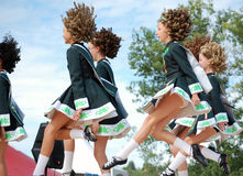 Irish Dancers Dancing Royalty Free Stock Photography