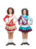Irish dancers in hard shoes Stock Photography