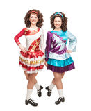 Irish dancers in hard shoes Stock Image