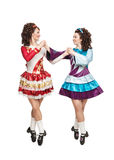 Irish dancers in hard shoes Stock Photo