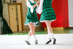 Irish dancing legs Stock Image